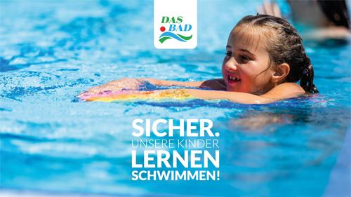 DAS BAD Merzig: Sommerferien – Kinderschwimmkurse ab sofort buchbar. - Sicher. Unsere Kinder lernen schwimmen!