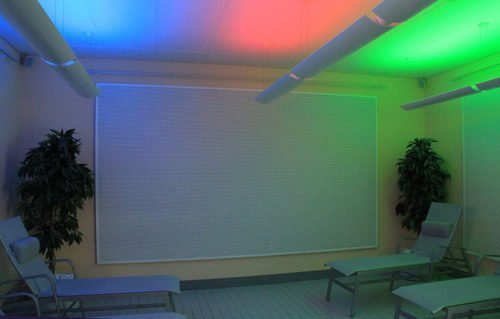 Das Erlebnisbad in Merzig: Klang- und Farblichtraum