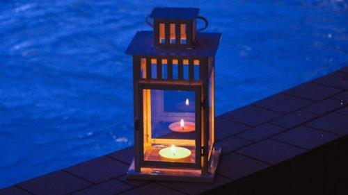 Das Erlebnisbad in Merzig: Kerzenscheinschwimmen