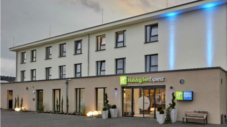 Das Holiday Inn Express Hotel in Merzig