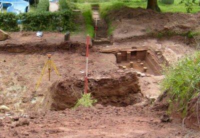 DAS BAD Merzig - Römische Funde