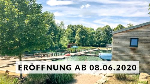 Das Erlebnisbad in Merzig: Naturbad Heilborn öffnet ab 8. Juni 2020