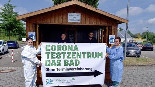 Das Erlebnisbad in Merzig: Neue Teststation von DAS BAD täglich ab 08:00 Uhr geöffnet
